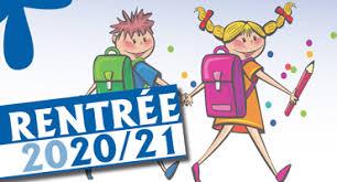 RENTRÉESCOLAIRE 2020-2021
